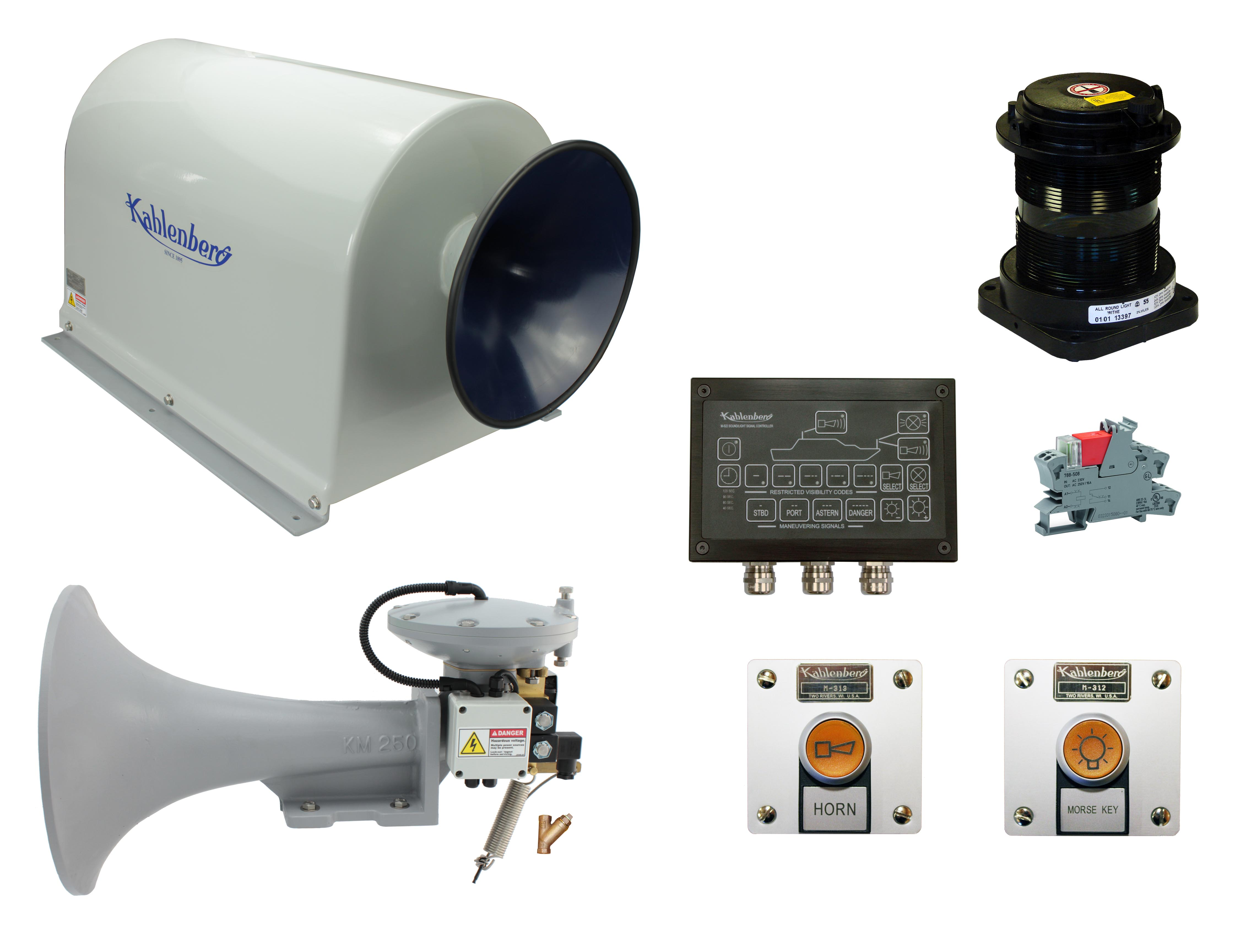 Complete Marine Horn Systems