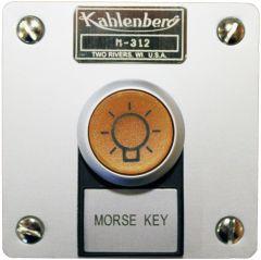 Illuminated Morse Key, Flush Mount, Model M-312